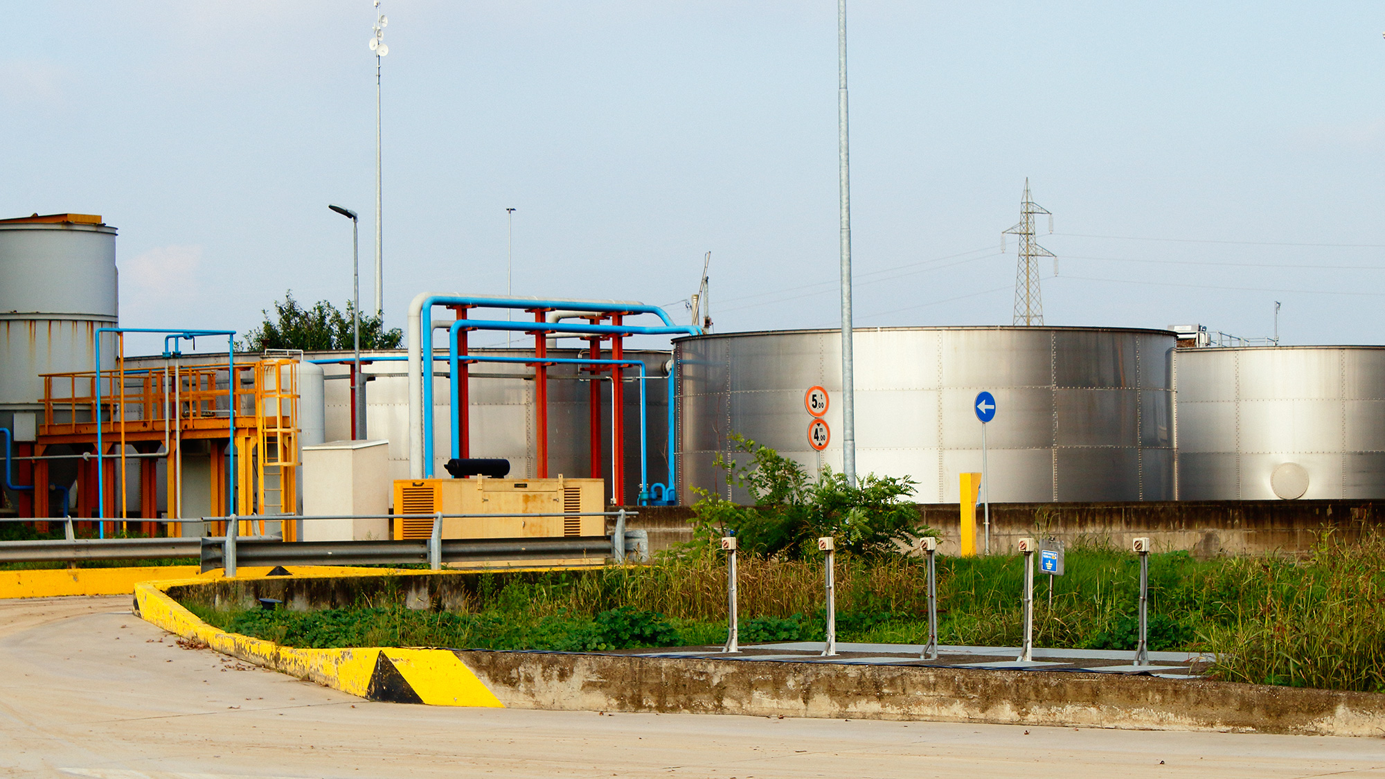 impianto trattamento acque